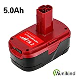 5.0Ah 19.2 Volt Lithium Battery Replacement for Craftsman 19.2V C3 Battery DieHard XRP 130211004 11375 11045 130279005