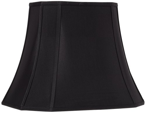 UPC 798167749848, Black Oblong Cut Corner Lamp Shade 7/10x12/16x13x12 (Spider)