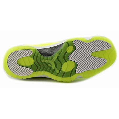 Nike Hommes Air Jordan Avenir Volt / Chaussures De Basket-ball En Tissu Blanc Volt.white-volt