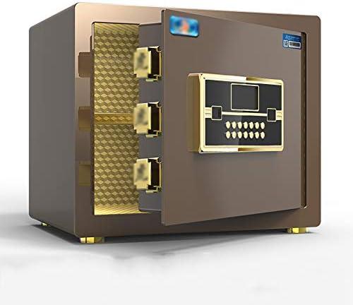 小型の家庭用金庫、25cm / 30cm / 45cm金庫、指紋パスワード盗難防止は壁のオフィスオールスチール製金庫ボックスに隠すことができます