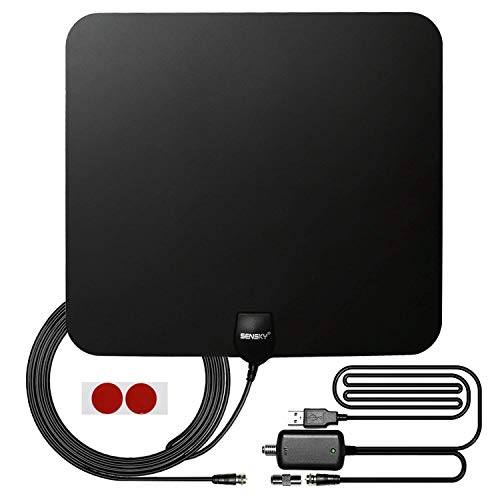 HDTV Indoor Antenna - Sensky Digital Skywire In...