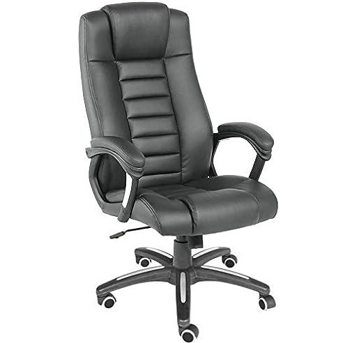 Luxus chefsessel  TecTake® Luxus Chefsessel Bürostuhl mit sehr hochwertiger ...