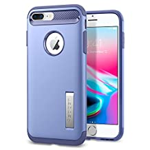 Spigen Slim Armor iPhone 7 Plus Case with Air Cushion Technology and Hybrid Drop Protection with Kickstand for iPhone 7 Plus 2016 - Violet