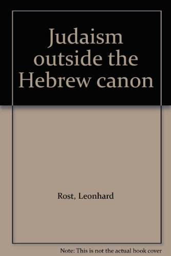 Judaism outside the Hebrew canon