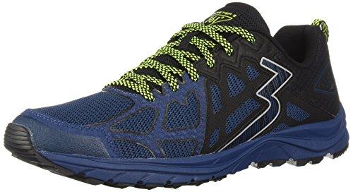 361 Mens 361-oltrepassare 2 Trail Running Shoe Poseidon / Nero