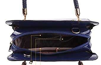 Tote Bag From JinBeiBei Blue Color