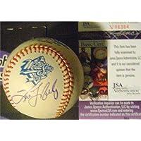 $138 » Autograph Warehouse 584008 Tino Martinez Autographed 1999 World Series Baseball - New York Yankees - JSA Authenticated