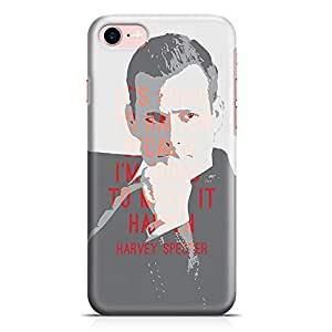 Loud Universe iPhone 8 Case Suits Case Harvey Specter Quote Its Going To Happen Tv Show Durable Scratch Resistant Light Weight Wrap Around iPhone 8 Cover