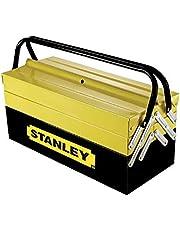 Stanley 5 Tray Metal Tool Box, 1-94-738, Yellow