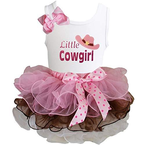 Kirei Sui Brown Light Pink Tutu & Little