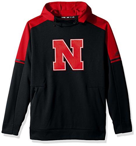 NCAA Nebraska Huskers Adult Men NCAA Sideline Player Hood, 3X-Large, Black (Nebraska Huskers Golf)