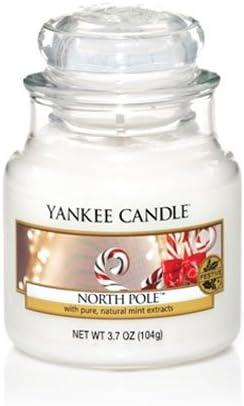 YANKEE CANDLE Polo Norte yanqui 3,7 oz Vela en Tarro pequeño ...