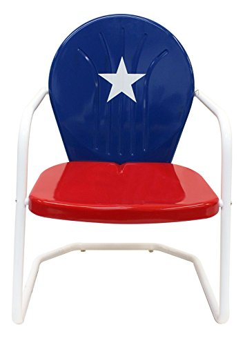 Leigh Country Texas Metal Retro Chair