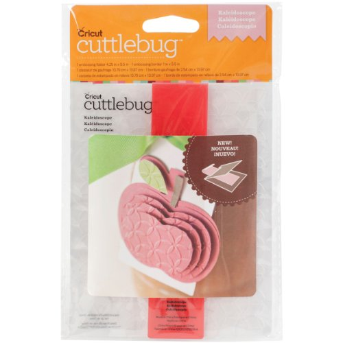 Cuttlebug Cricut Cuttlebug A2 Embossing Folder and Border, Kaleidoscope Cuttlebug Dies