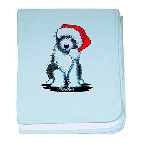 - CafePress - Bearded Collie Santa - Baby Blanket, Super Soft Newborn Swaddle