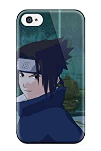 6440705K52493235 Tpu Shockproof/dirt-proof Young Sasuke Cover Case For Iphone(4/4s)