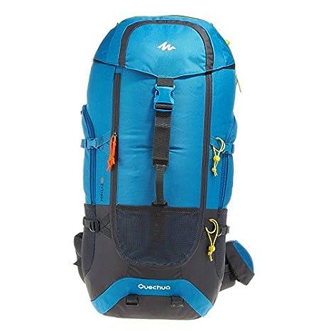 a basso prezzo 0fcf4 9e461 QUECHUA zaino da trekking Forclaz 60 litri - blu: Amazon.it ...