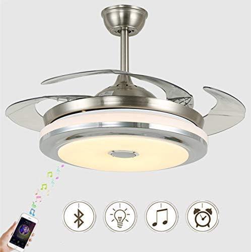Vhouse - Ventilador de techo con luz y reproductor de música ...