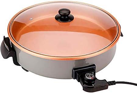 ⭐ COCINA GRANDES CANTIDADES: Diámetro de 40 cm. y 7 cm. de profundidad en su superficie útil de coci
