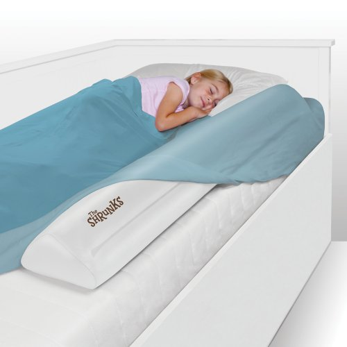 toddler bed rail by the shrunks inflatable safety bed. Black Bedroom Furniture Sets. Home Design Ideas