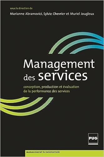 En ligne téléchargement gratuit Management de services : Conception, production et évaluation de la performance des services pdf