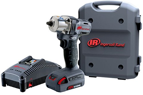 Ingersoll Rand W5130-K12 Mid-Torque Impactool Kit with Charger, Li-Ion Battery and Case, (Ingersoll Rand Case)