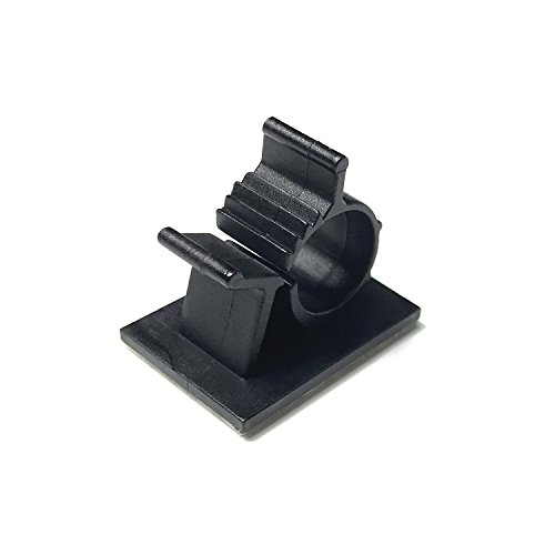 Adjustable Cable Clips, Self-Adhesive Nylon Wire Clamps, Plastic ...