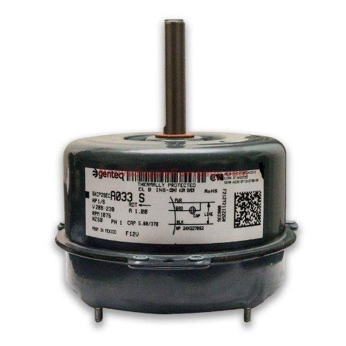 OEM Upgraded GE Genteq 1/6 HP 230v Condenser Fan Motor 5KCP29ECA033S
