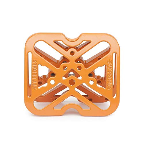 Fly Pedals 2 Universal Platform Adapter for Clipless Pedals Orange Road Mounain by Fly Pedals