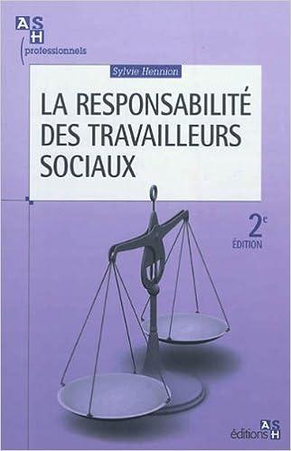 Livre gratuits La responsabilité des travailleurs sociaux epub, pdf