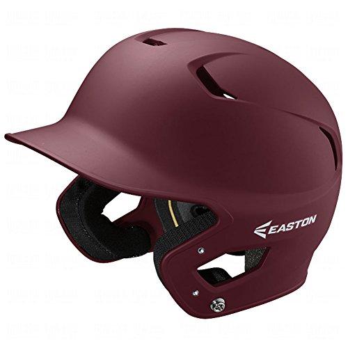 Maroon Baseball Batting Helmet (Easton Junior Z5 Grip Batters Helmet, Maroon)
