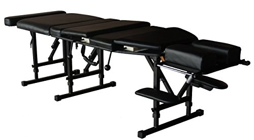 MT Portable Folding Chiropractic Table Arena 180, Black