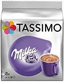 Tassimo Chocolat Chaud Milka 8 T-Disc - Lot de 5