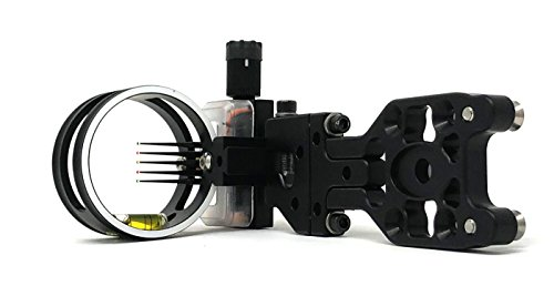 Bow Tru Sight (Sword Sights Twilight Hunter 2.0 Multipin Compound Bow Archery Sight for Hunting – Right Handed - Fixed Mounting Plate)