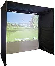 EasySim Kit-Form Golf Simulator Enclosure 2.5 x 2.5 x 1.3 (No Poles)