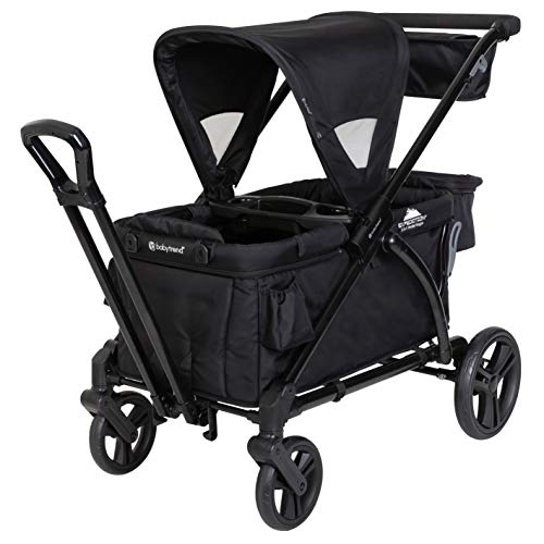Baby Trend Expedition Stroller Wagon Plus, Ultra Black