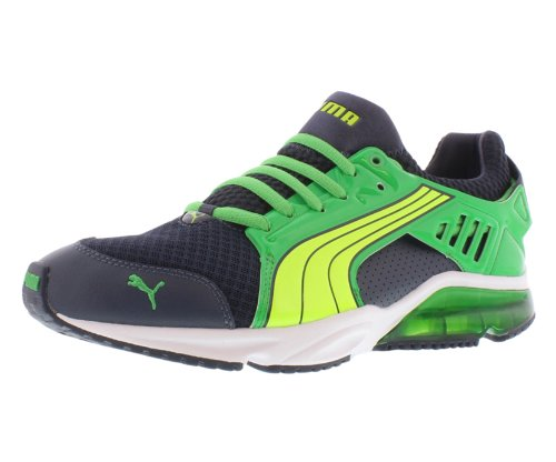 (PUMA Powertech Blaze Men's Crosstraining Size US 9, Regular Width, Color Yellow/Green/Navy)