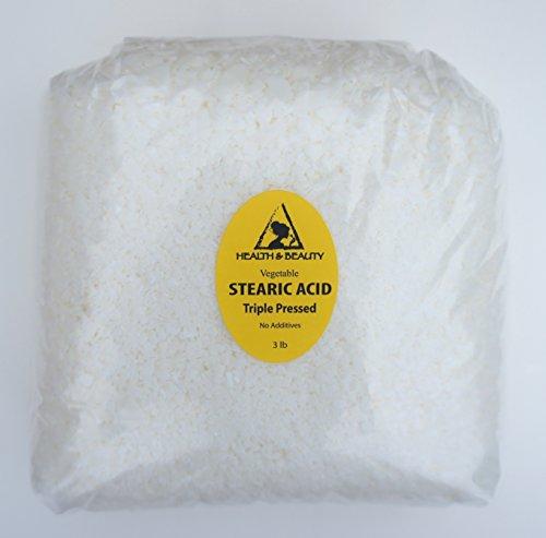 Stearic Acid Vegetable Triple Pressed Cosmetic Grade Past...