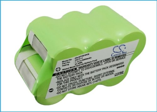 - 7.20V Ni-MH replacment Battery for Euro Pro XBP610,fit Model Euro Pro Shark U610TC,Shark 86050,Shark 36000,Shark EU-36000,Shark EU-86050,3000mAh