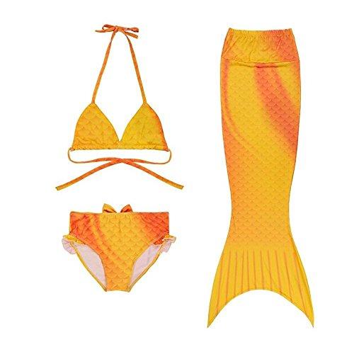 tfjh-3pcs-kids-girls-swimmable-mermaid-tail-3-4-years-yellow