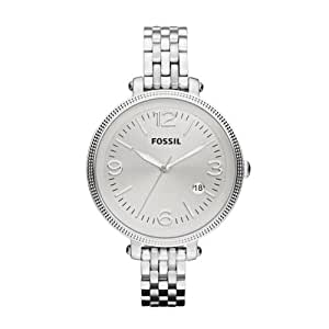 fossil women 39 s es3129 stainless steel analog silver dial. Black Bedroom Furniture Sets. Home Design Ideas
