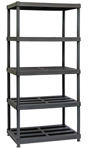 (Sandusky Lee PS362472-5B Plastic Shelving, 36