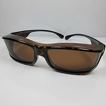 polarisierende Überbrille Sonnenbrille Brillenträger 100/% UV Damen Herren Brille