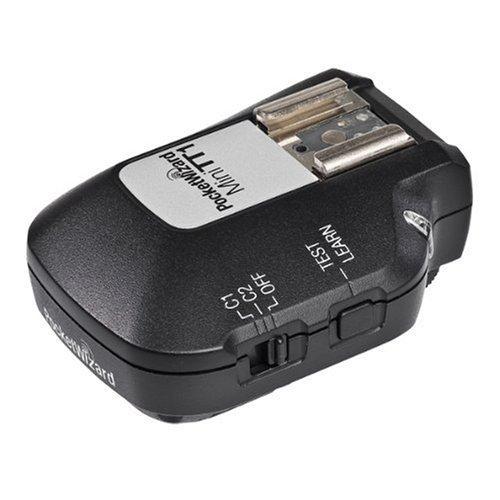 Radio Pocket Transmitter Receiver Wizard - PocketWizard MiniTT1 Radio Transmitter for Canon TTL Flashes and Digital SLR Cameras
