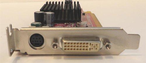 ATI Radeon X300 64 MB PCI-E PCIe DVI S-Video Card N5975 CN-0N5975
