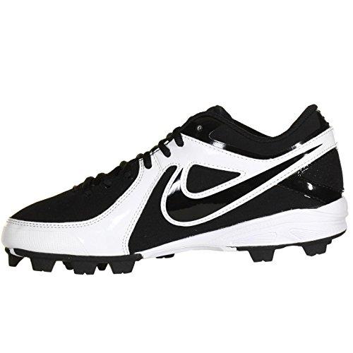 Nike Mvp Keystone Lav Le Svart Hvite Menns Baseball Cleats Oss 6,5 M, Eu 39