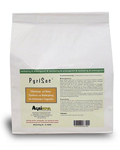 PyriSec 1 kg Zuverlässig wirksame Kombination Kieselgur/Pyrethrum gegen alle Vogelmilbenarten u.a.