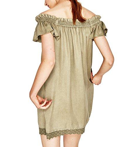 Zara Damen Schulterfreies kleid 7866/997