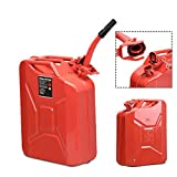 Goplus 20 Liter (5 Gallon) Jerry Fuel Can with