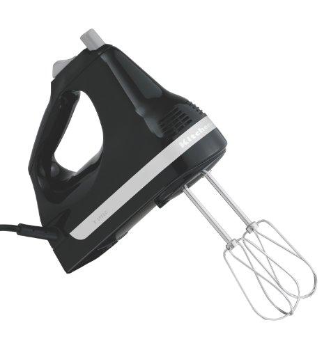 KitchenAid Ultra Power 5-Speed Hand Mixer, Onyx Black